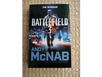 Battlefield 3 The Russian Hardback Book Andy McNab Action Adventure