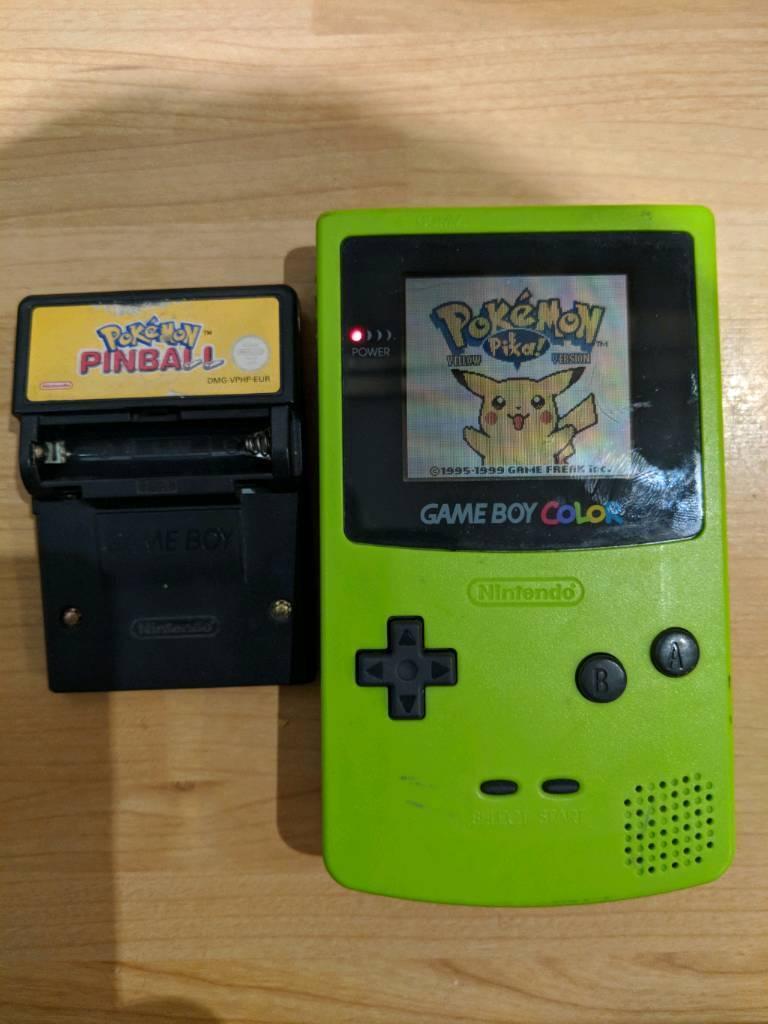 Pokemon games for gameboy color - Nintendo Game Boy Color Pok Mon Games