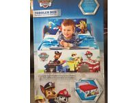 Paw patrol toddler bed brand new still in box