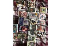 NFL cards some autographs