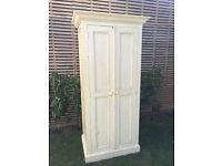 Fantastic solid wood shabby sheek wardrobe, kitchen storage unit