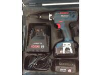 Bosch GSR14.4-2-Li Compact Light Weight Drill Driver Kit