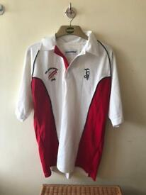 Official England Ashes Cricket Shirt (L)