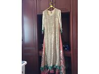 Asian bridal outfit