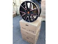 "4 20"" alloy wheels alloys rims tyre tyres porsche 991 991 996 997 5x130 staggered"