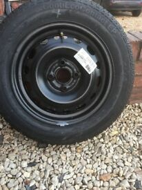 Vauxhall Corsa Wheel, Never used with Brand new Tyre