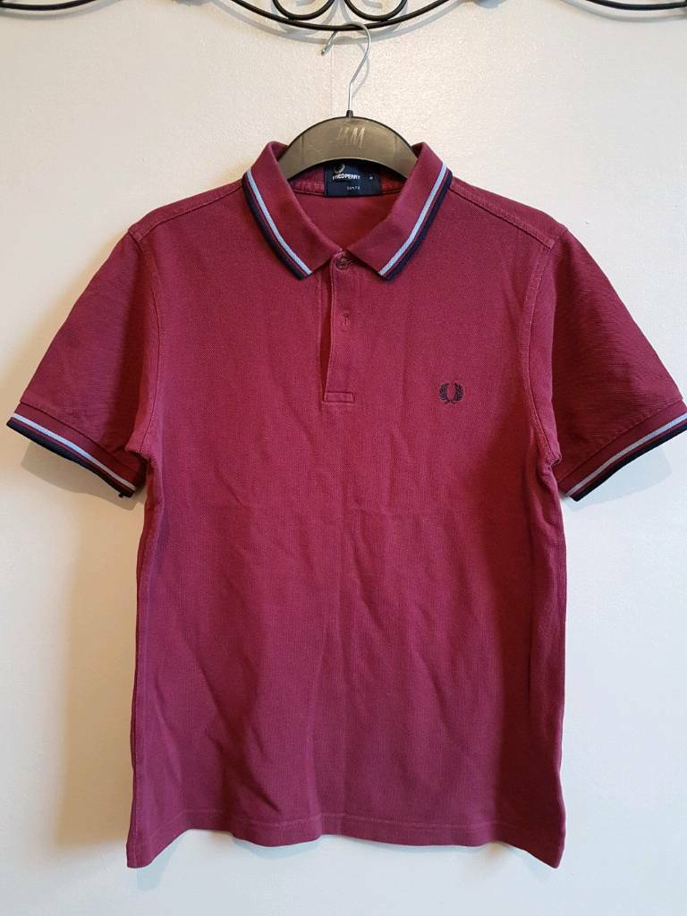 Fred Perry medium slimfit men Top