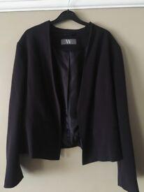 Plum jacket. Size 20.