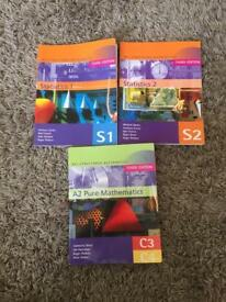 Maths & Statistics exercise books