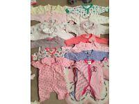 0-3 months baby pajamas
