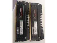 HyperX DDR3 Beast 8GB (2x4GB) DIMM 2400MHz Ram