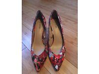 Multicoloured size 8 heels