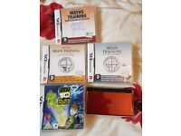 Nintendo DS with ben10 and 3 other games