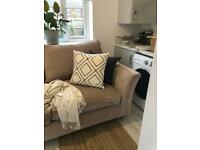 NEXT HOME LANSTON LARGE SOFA - Almost New - 3 seater, Mink (x2 available)