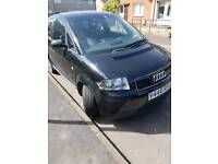 Black Audi a2