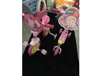 Peppa pig bike and scooter