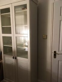 Excellent condition great storage white cabinet