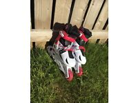 Kids Rollerblades size small UK size 1-3