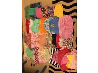 Bundle of girls clothes ages 1 to 2 years