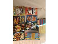 Children's books age 5-10 approx inc famous five boxed set, Horrid Henry and Beast Quest books