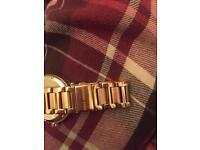 Rose gold sparkle Michael Kors watch