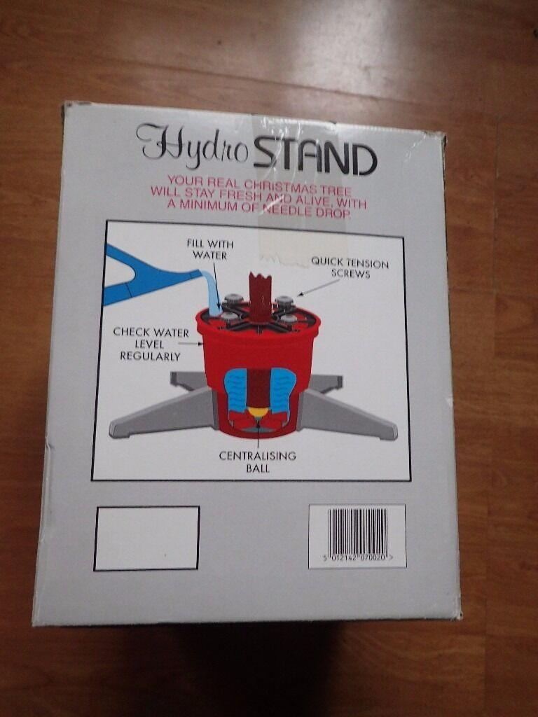 Hydro Xmas tree stand