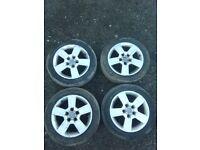 Audi A4 B6 B7 5x112 16'' genuine alloy wheels 205/55/16
