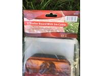 Brand new 3ft trailer board & 3m cable