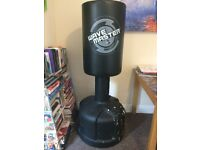 REDUCED Century Powerline Wavemaster FREESTANDING Punchbag with mitts