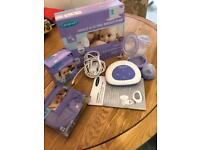 Lansinoh breast pump with extras