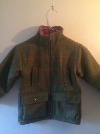 Tweed jacket kids girls size 5-6 years
