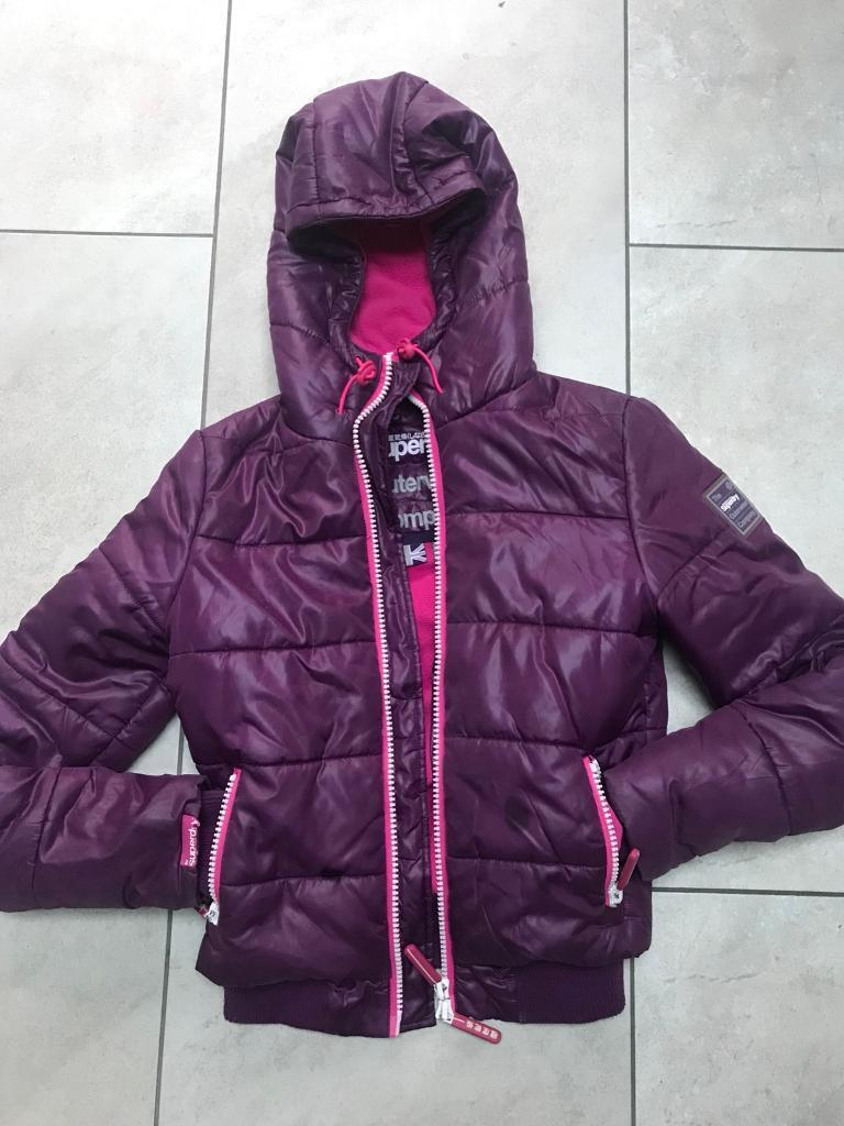 Women's Purple Superdry jacket
