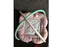 Play Mat and Bouncer for sale