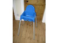 2 IKEA Baby high chairs