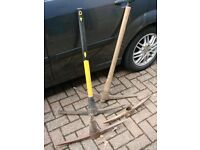 Collection of 4 Pick Axes Only £28 the lot