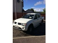 Mitsubishi L200 Double Cab 2006 New Shape