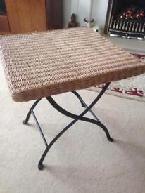 Lloyd Loom Wicker table
