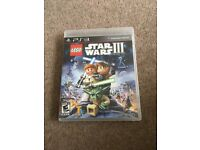 PS3 Game Lego Star Wars III The Cline Wars