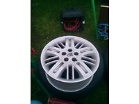 4 Rover 75 alloys great condition and other parts