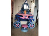Cinderella Vanity table and stool