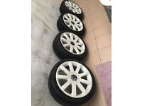 "Wheels and thires 18"" VW"
