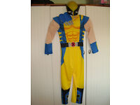 Deluxe Wolverine Costume with mask & claws age 7-8 years