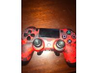 Ps4 scuff controller red