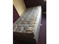 FREE SINGLE BED & MATRESS