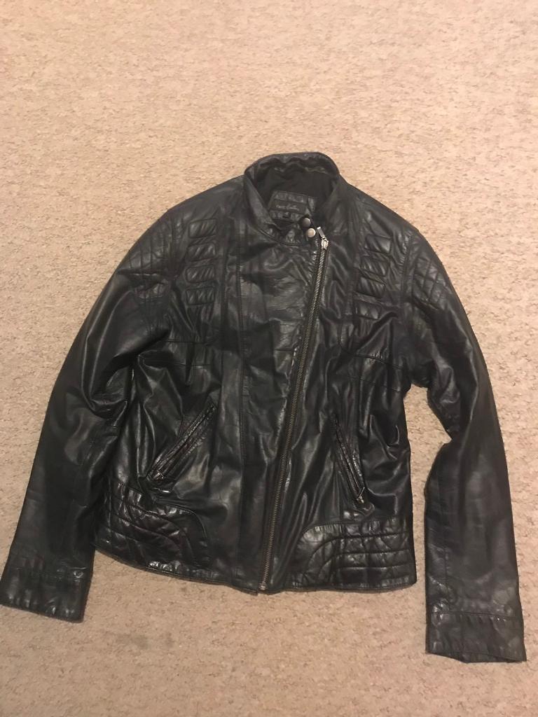 d90ca9b4ee9 Ladies Black Leather Jacket 16