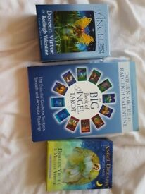 Doreen virtue book and angel cards