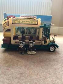 Sylvanian Families woodland bus set