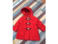 John Lewis Girls Duffle Coat