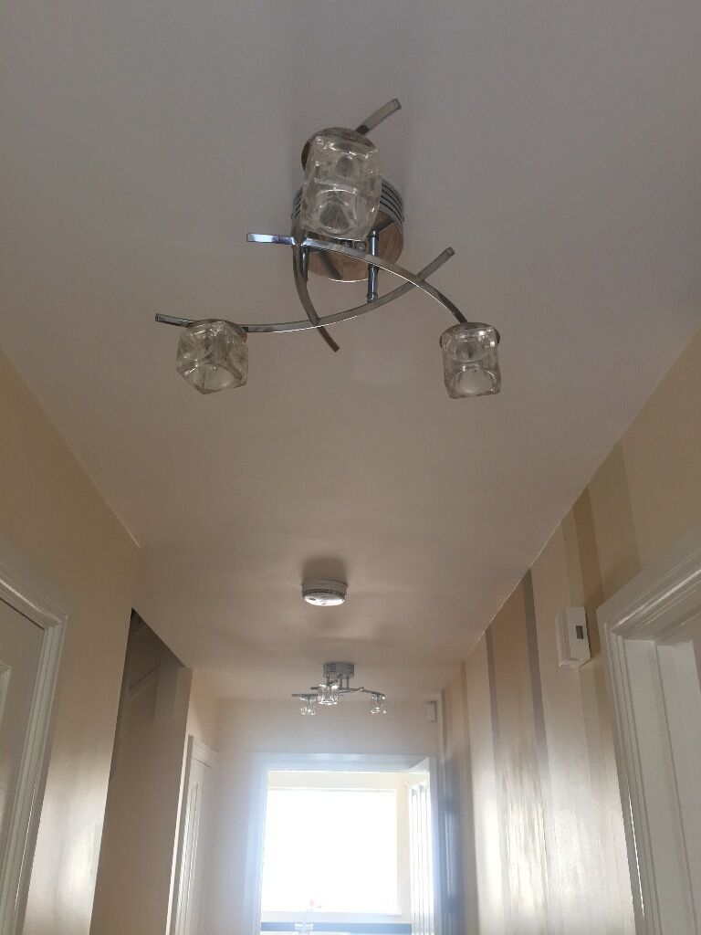 Two Leekes Ceiling Lights