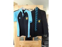 Bangor Academy school uniform blazers and PE Polo Top